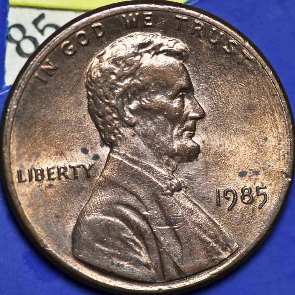 2018 lincoln penny. plain 2018 1985 lincoln penny on 2018 lincoln penny