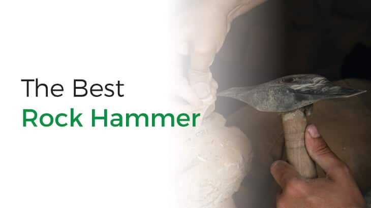 A collection of the best rock hammers.