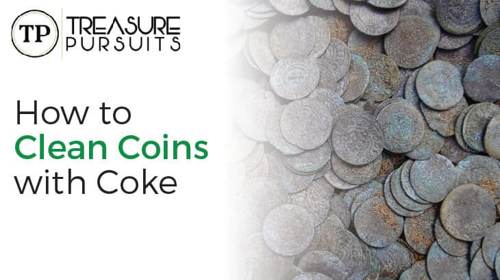 How to clean coins with coke