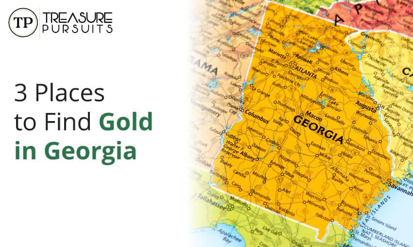 Places to find gold in Georgia.