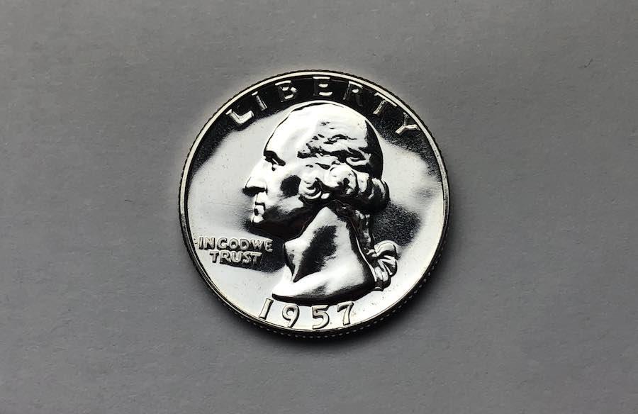1957 Silver Quarter