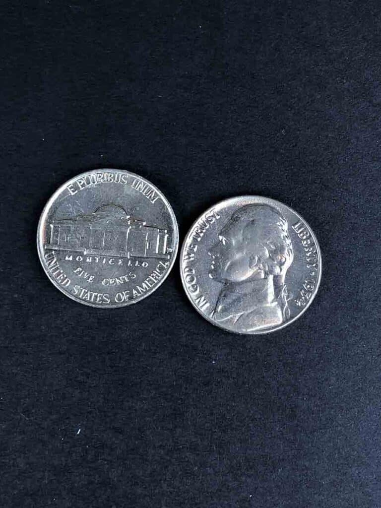 nickel front and back