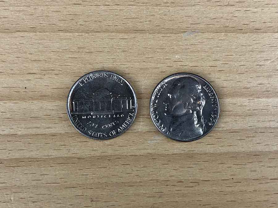 coins side by side