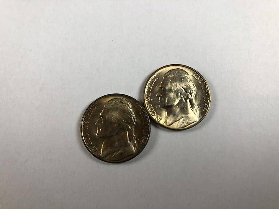 front Jefferson nickel