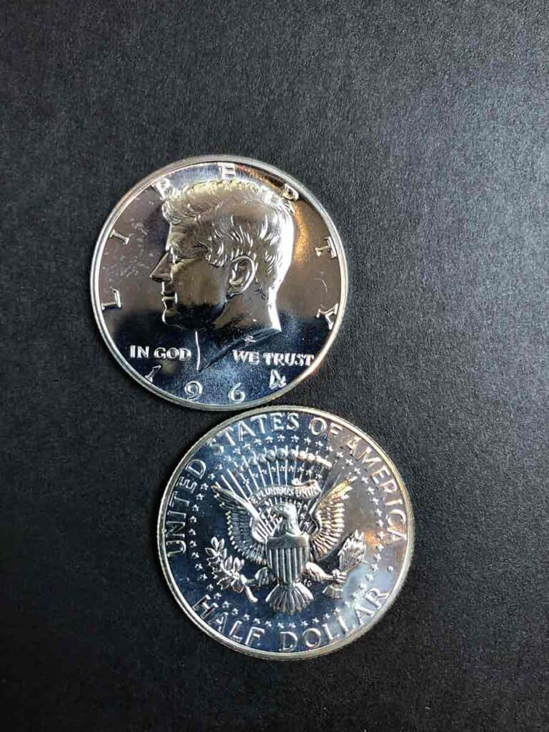 1964 Kennedy Half Dollar proofs