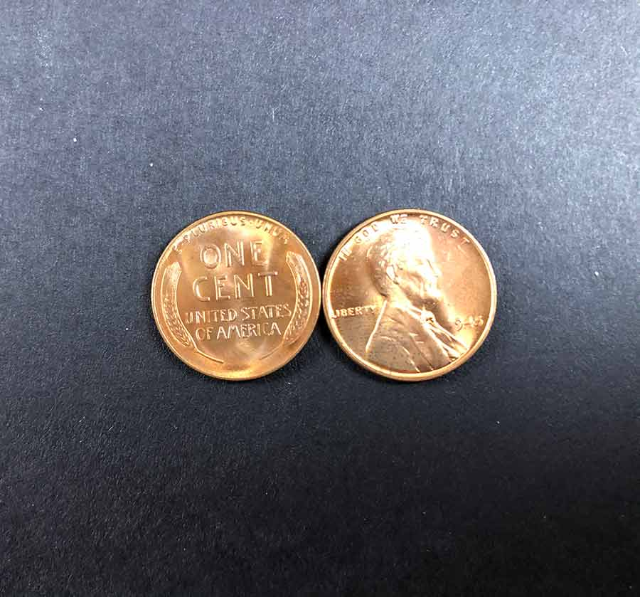 1945 wheat penny